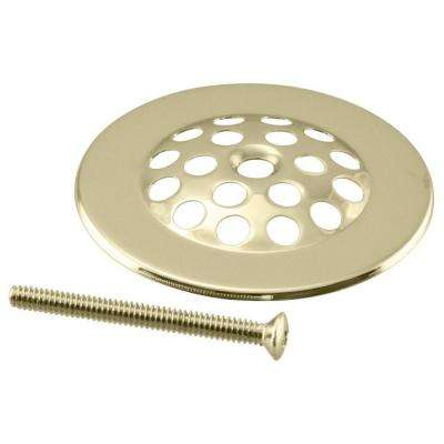 Brass Beehive Grid Strainer in Polished Brass