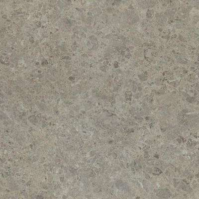 5 in. x 7 in. Laminate Countertop Sample in Silver Shalestone with Matte Finish