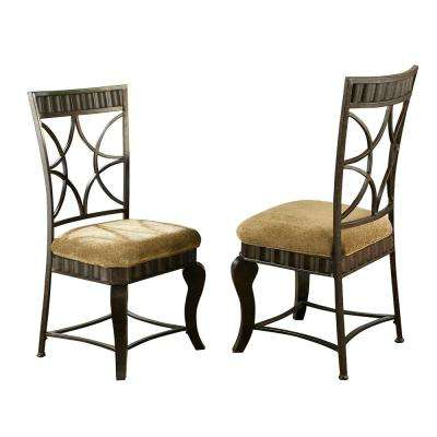 Hamlyn Brown Side Chair (Set of 2)