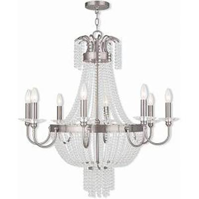 Valentina 8-Light Brushed Nickel Chandelier