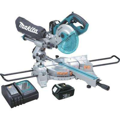 18-Volt LXT Lithium-Ion Cordless 7-1/2 in. Dual Slide Compound Miter Saw Kit