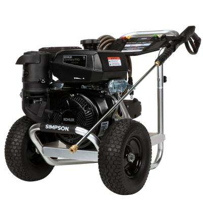 Aluminum 4400 PSI at 4.0 GPM KOHLER CH440 with AAA Triplex Pump Professional Gas Pressure Washer