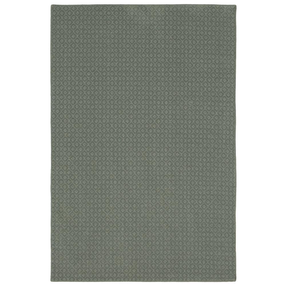 Pattern Sawyer Meandering Texture 9 ft. x 12 ft. Bound Carpet Rug