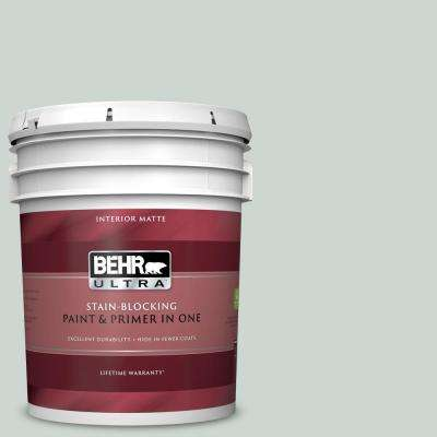 5 gal. #MQ3-21 Breezeway Matte Interior Paint and Primer in One