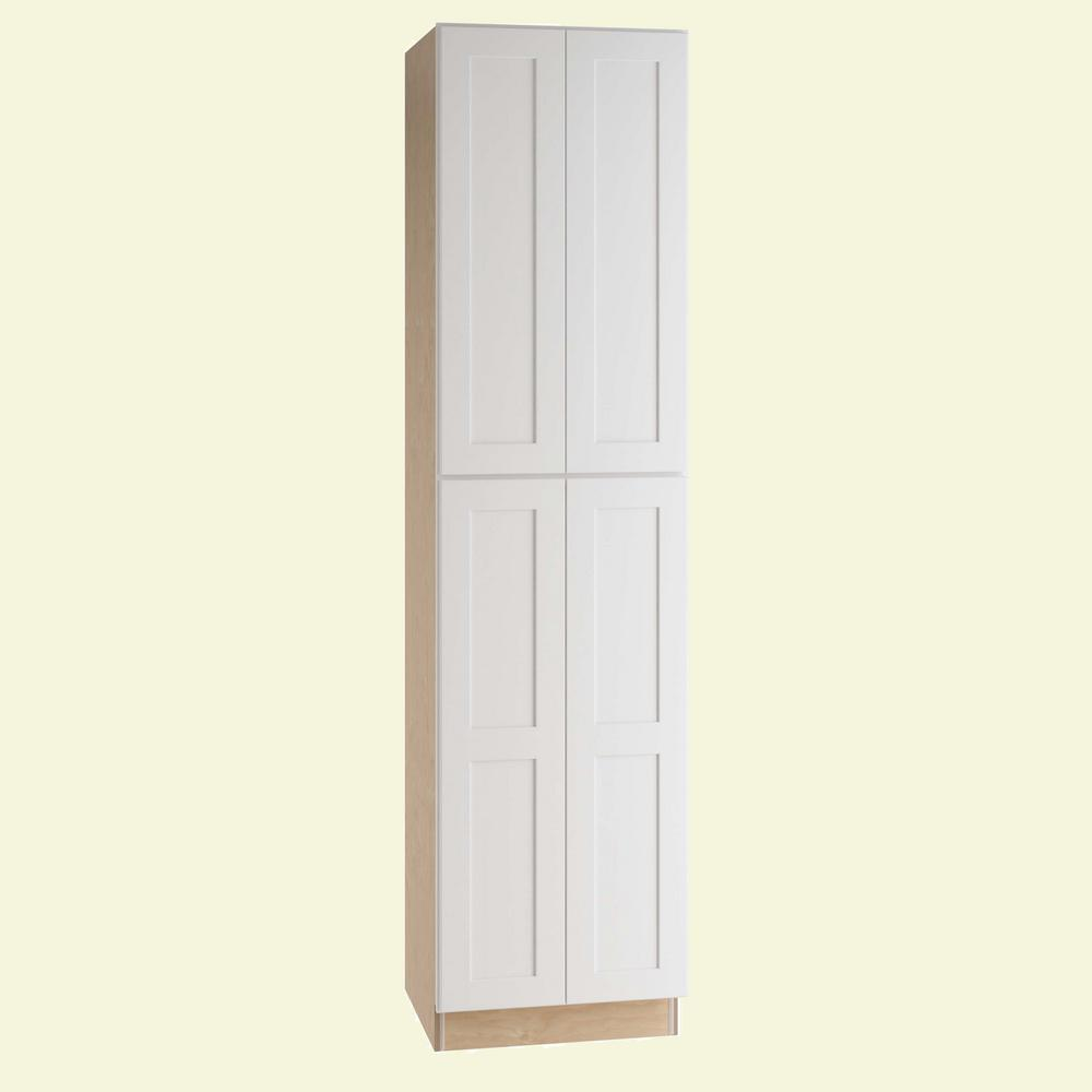 Home decorators collection newport assembled 24 x 96 x 24 for Decorators white kitchen cabinets
