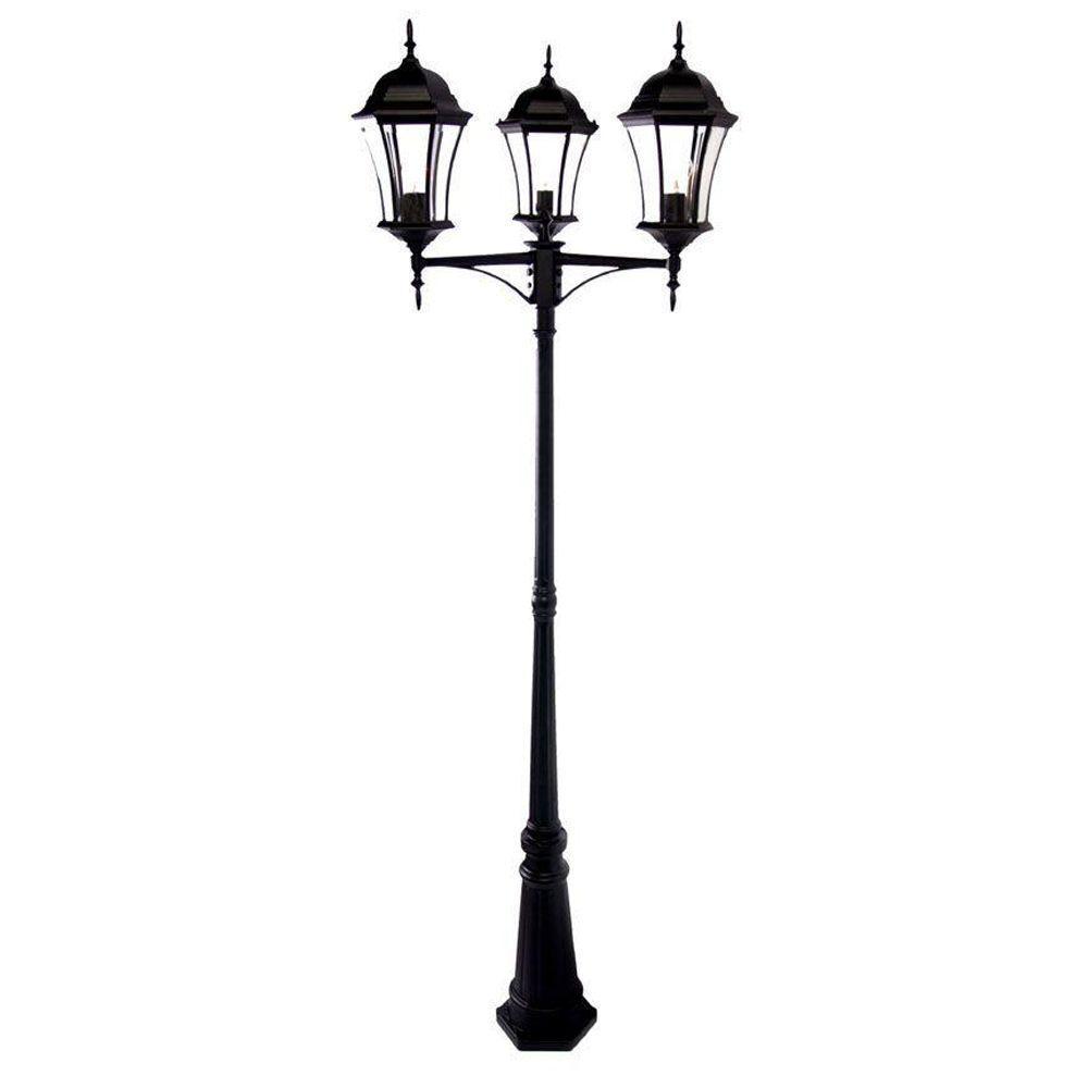 Acclaim lighting brynmawr 3 light matte black outdoor - Exterior surface mounted light fixtures ...