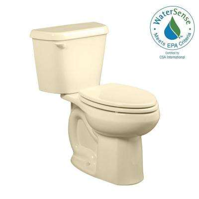 Colony 2-piece 1.28 GPF Right Height Elongated Toilet in Bone