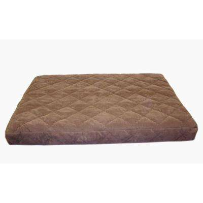 Large Protector Pad Quilted Orthopedic Jamison Pet Bed - Chocolate