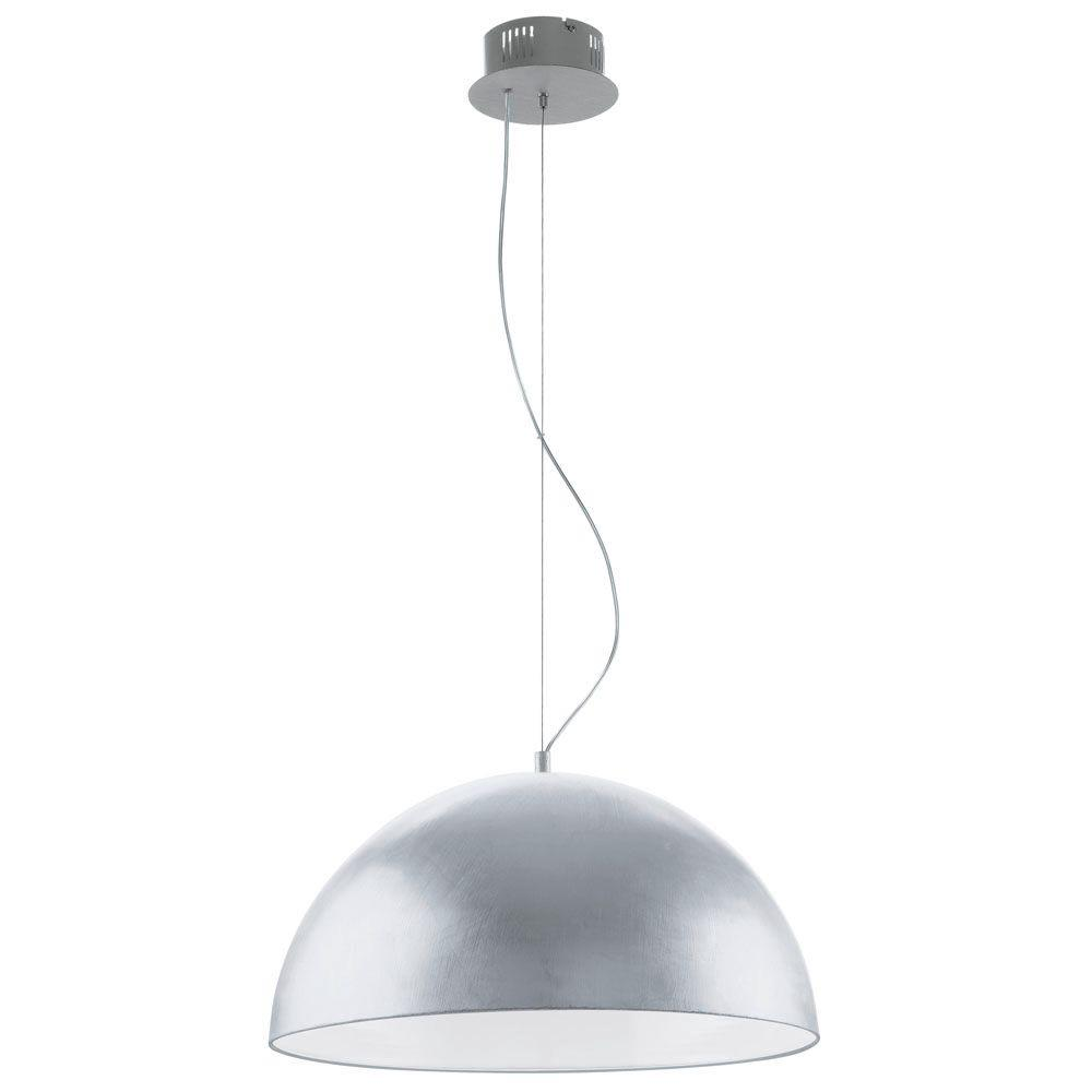 Eglo Gaetano 2 Light Silver Large Pendant