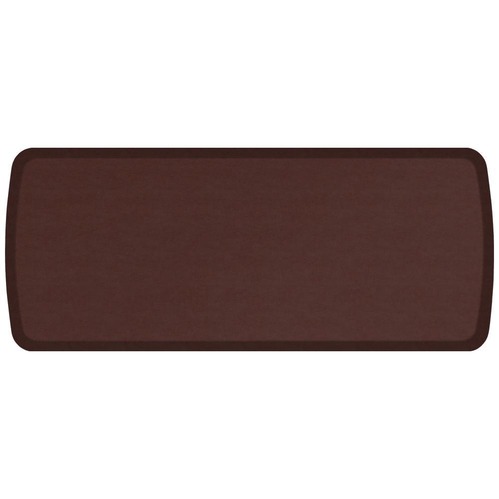 Gel Pro Kitchen Mat: GelPro Elite Vintage Leather Sherry 20 In. X 48 In