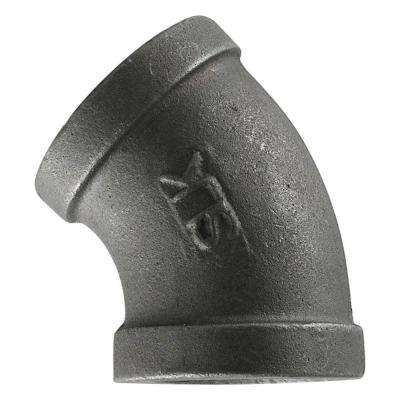 3/8 in. Black Iron 45° Elbow