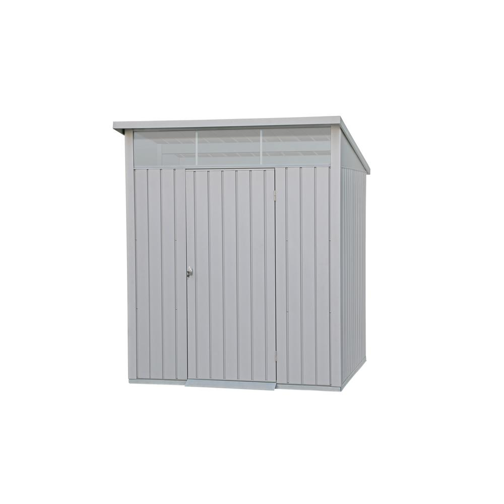 Duramax Building Products 6 ft. x 5 ft. Palladium Premier Metal Shed