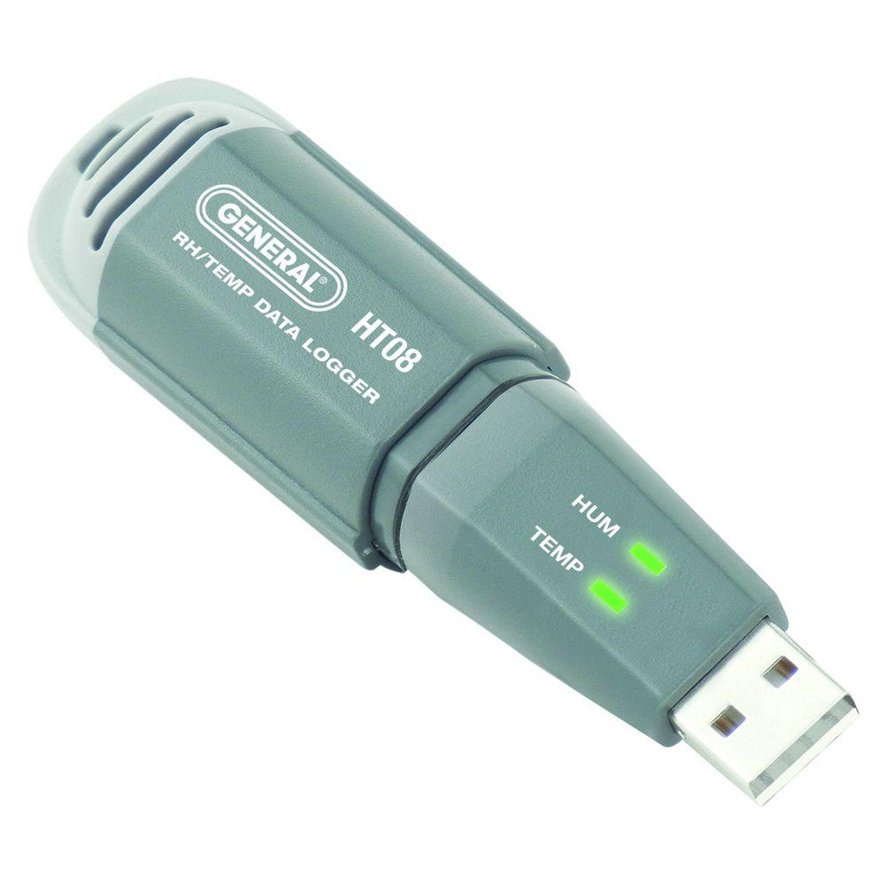 Data Acquisition Usb : General tools mini usb temperature and relative humidity