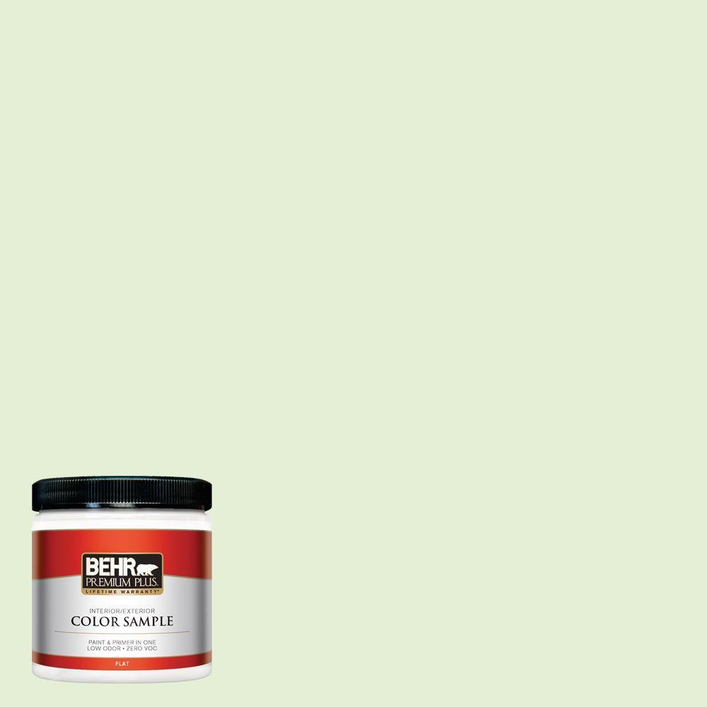 8 oz. #430C-2 Spring Morn Flat Zero VOC Interior/Exterior Paint and