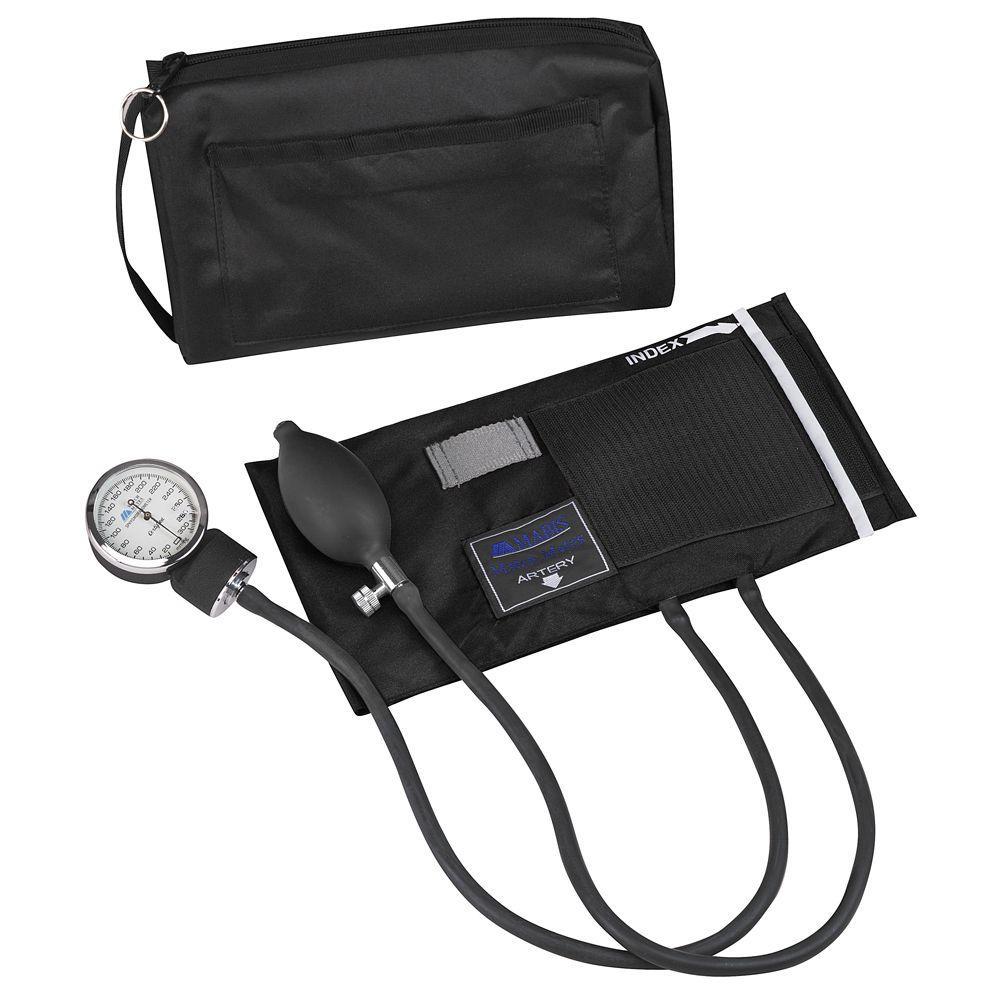 MatchMates Aneroid Sphygmomanometers Kit in Black