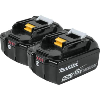 18-Volt LXT Lithium-Ion 6.0 Ah Battery (2-Pack)