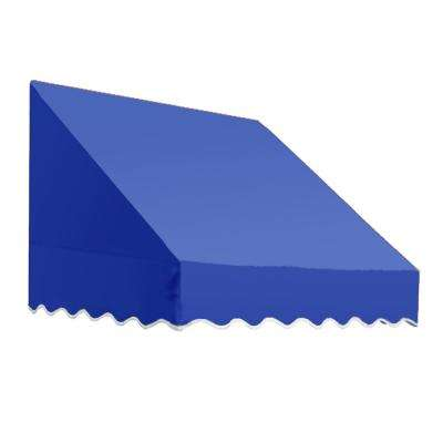 8.38 ft. Wide San Francisco Window/Entry Awning (18 in. H x 36 in. D) Bright Blue