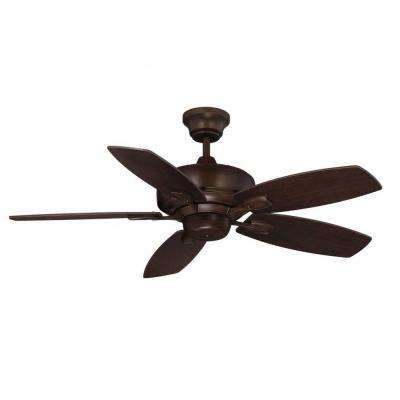 Riedern 42 in. Espresso Indoor Wall Fan