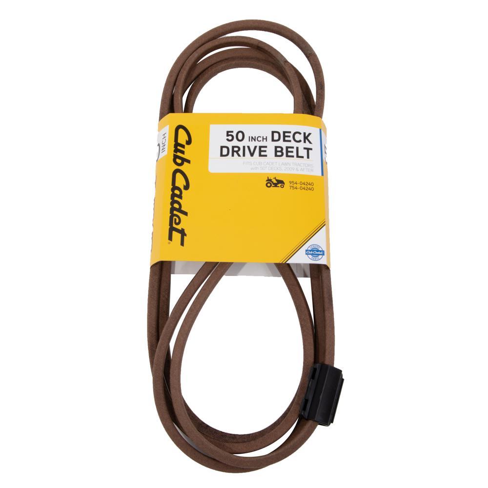 Original Equipment Deck Drive Belt for Select 50 in. Lawn Tractors