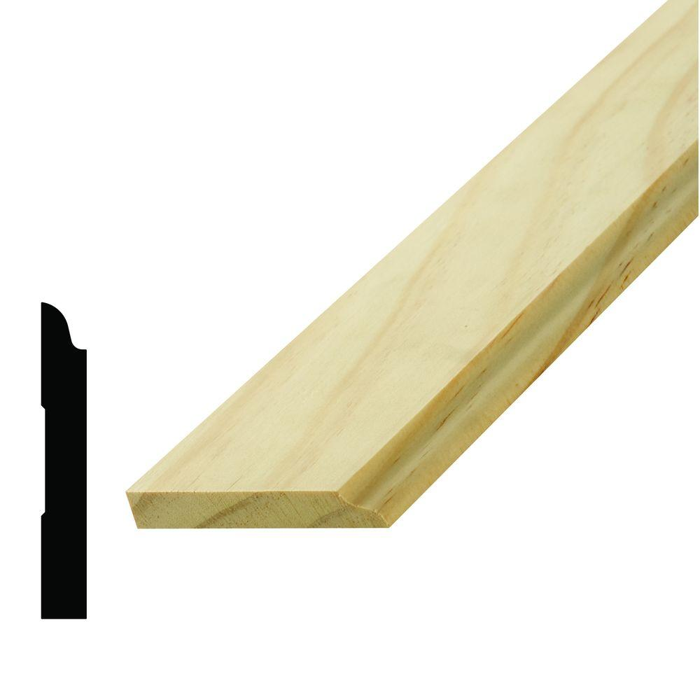 WM 912 3/8 in. x 2-1/2 in. Pine Stop Moulding