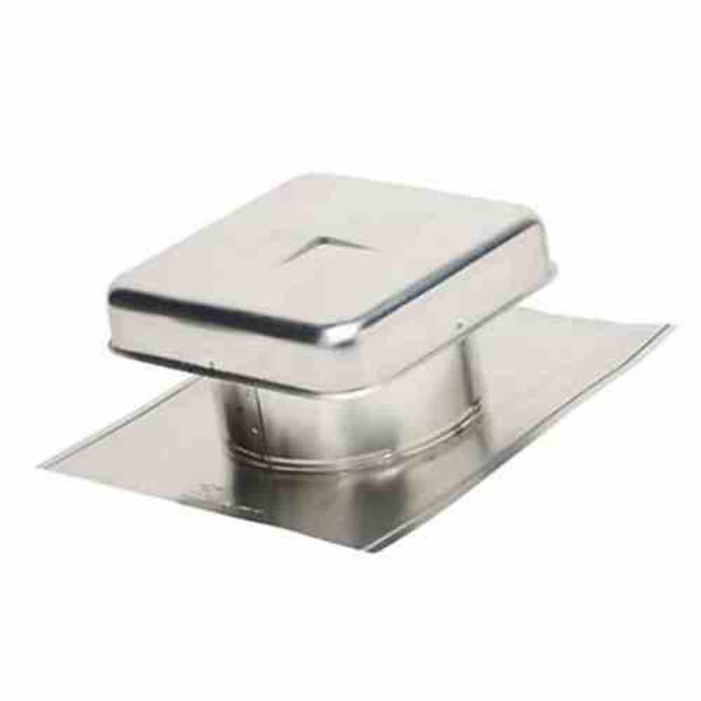 15 in. x 10 in. Galvanized Steel Static Roof Vent