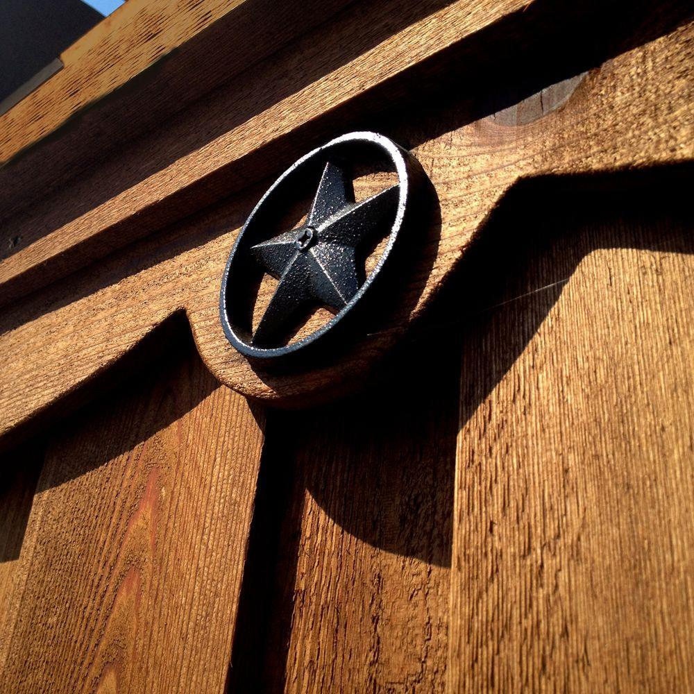 OWT (Ornamental Wood Ties) 3-3/8 in. Decorative Metal Star (10-Pack)