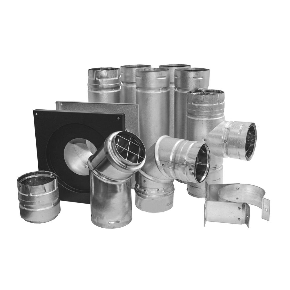 DURA-VENT PelletVent 4 in. Stove Pipe Kit