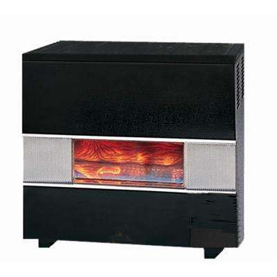 65,000 BTU Natural Gas Hearth Heater with Wall or Cabinet-Mounted Thermostat