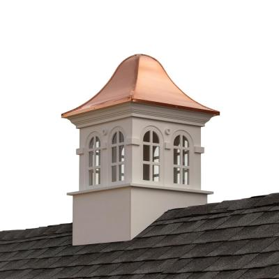 Smithsonian Rockville 42 in. x 66 in. Vinyl Cupola with Copper Roof