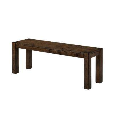 Bella Walnut Wood Bench