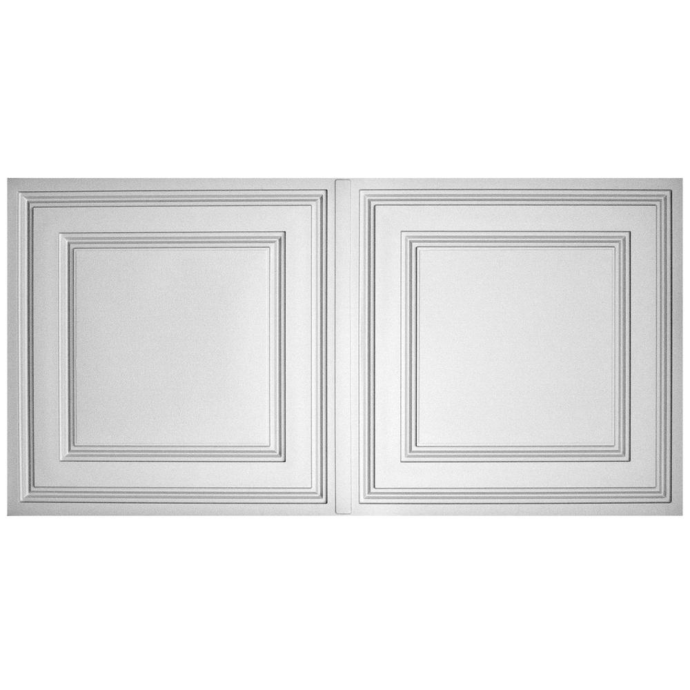 Ceiling tiles ceilings the home depot stratford feather light white 2 ft x 4 ft lay in ceiling dailygadgetfo Images