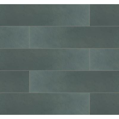 Montauk Blue 6 in. x 24 in. Gauged Slate Floor and Wall Tile (10 sq. ft. / case)