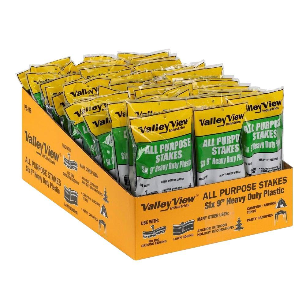 Valley View Industries 9 in. Poly Stakes