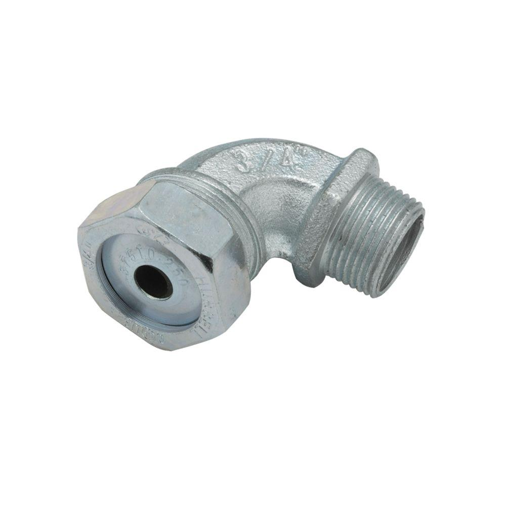 RACO Liquidtight Strain Relief 3/4 in. Cord Connector (10-Pack)