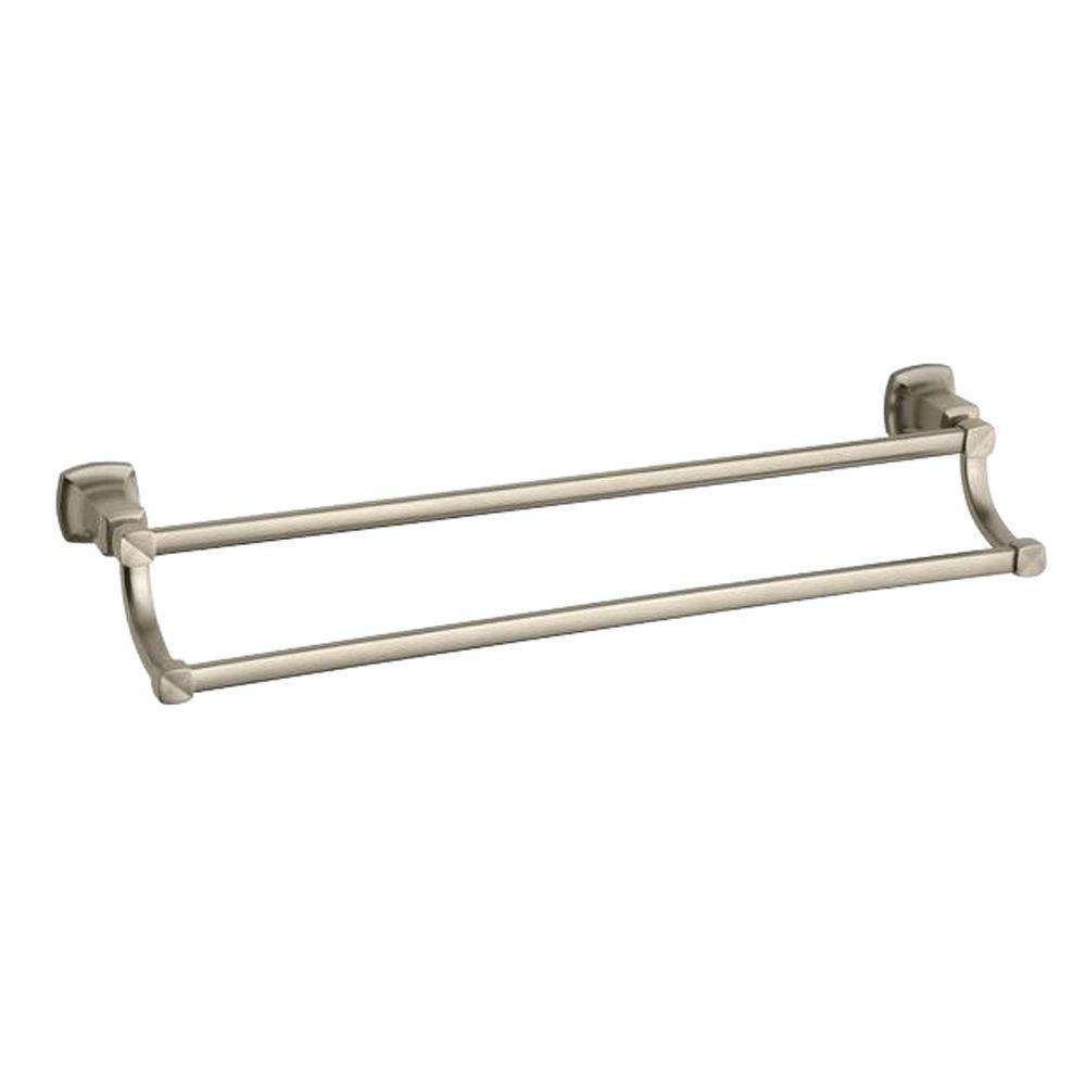 Margaux 24 in. Towel Bar in Vibrant Brushed Bronze