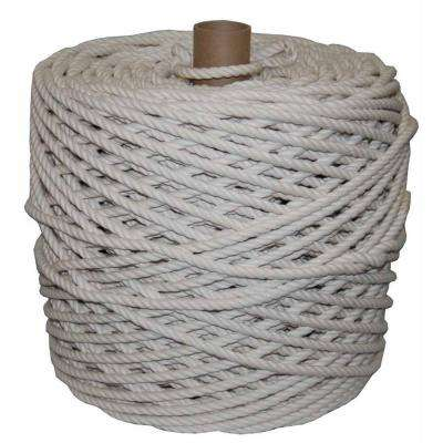 1 in.  x 600 ft.  Twisted Cotton Rope