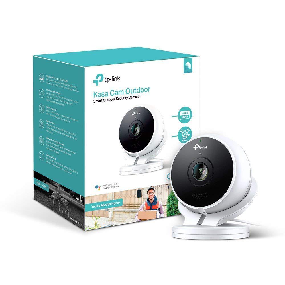Tp Link Kasa Smart Wi Fi Outdoor Security Camera No Hub