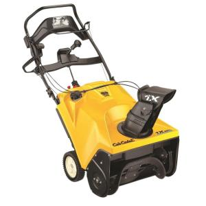 Cub Cadet 21 inch 208cc Single-Stage Electric Start Gas Snow Blower with Headlight by Cub Cadet