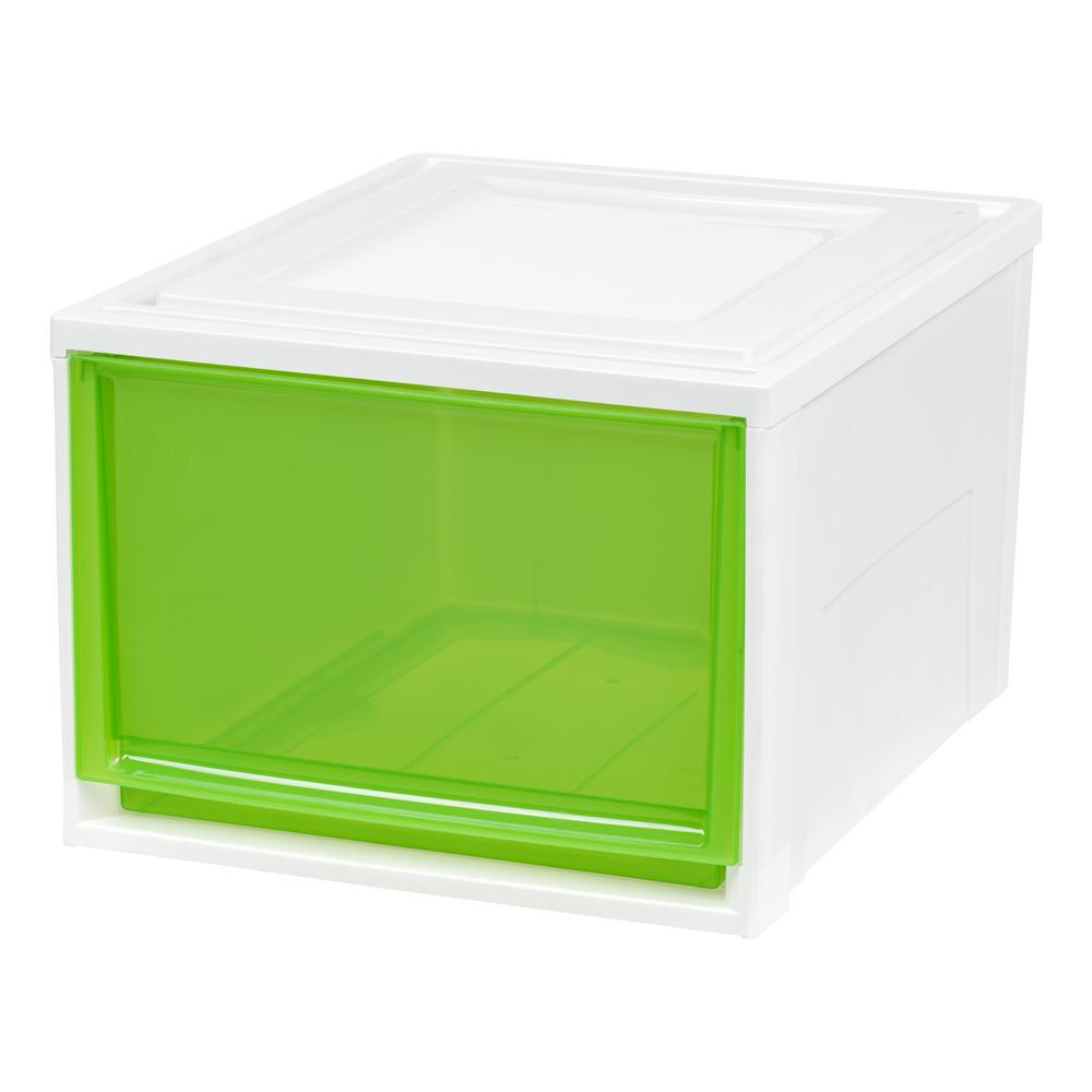 15.75 in. x 11.5 in. Deep Box Chest Drawer White with