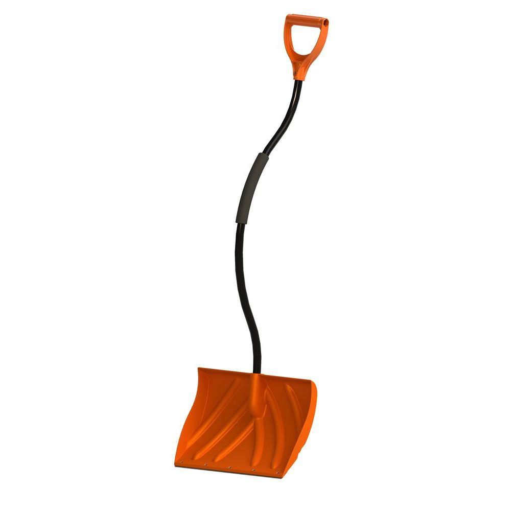 Orbit 20 in. Snow Shovel with Ergonomic Handle-80065 - The Home Depot