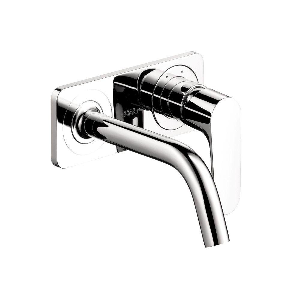 Citterio M Wall-Mount 1-Handle Single Hole Bathroom Faucet in Chrome with