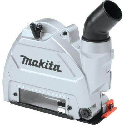 5 in. Dust Extracting Tuck Point Guard to work with Makita 5 in. SJSII Angle Grinders