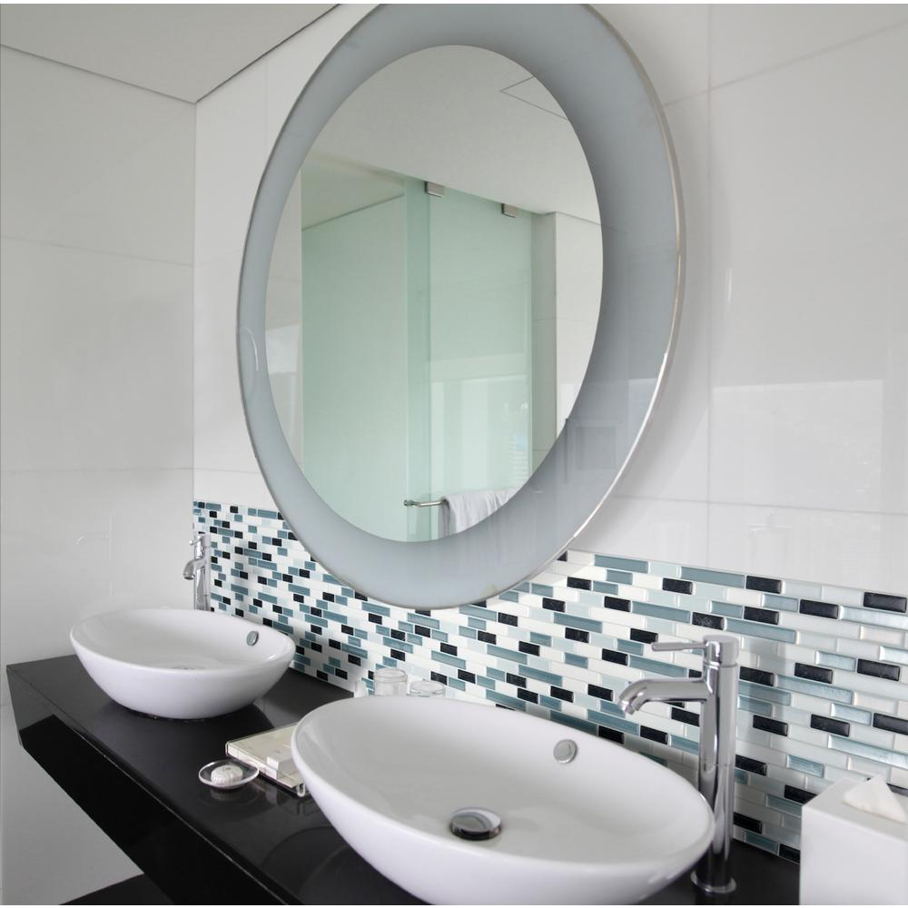 Smart Tiles Muretto Brina 1020 in W x 910 in H Decorative