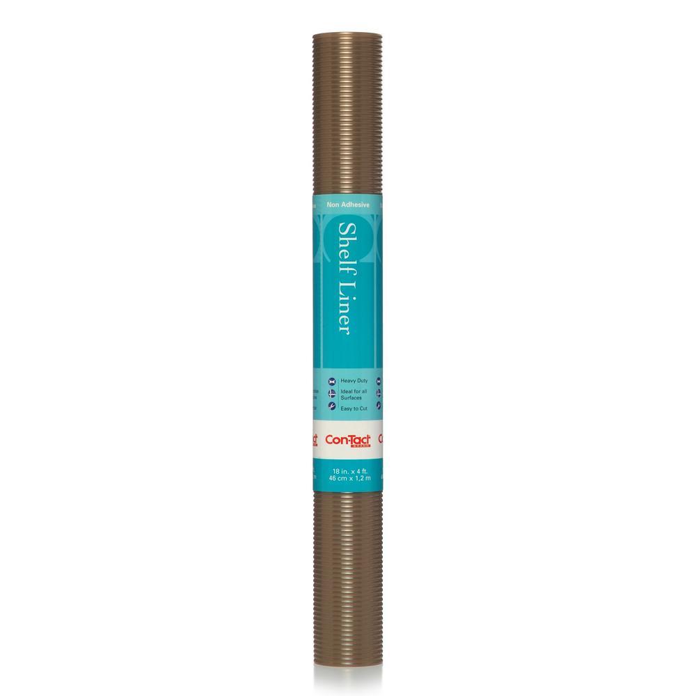 Clear Copper Ribbed Shelf/Drawer Liner (Set of 6)
