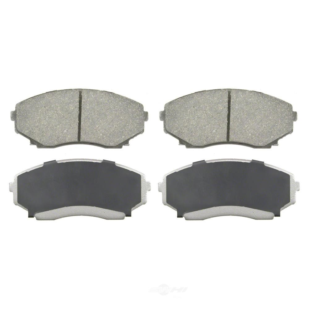 1997 Mazda Mpv Exterior: Wagner Brake Front ThermoQuiet Disc Brake Pad Fits 1992