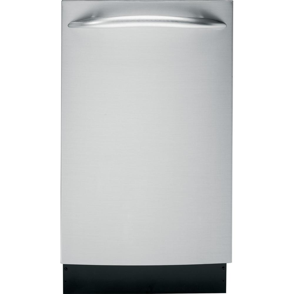 GE Profile 18 in. Top Control Dishwasher in Stainless Ste...