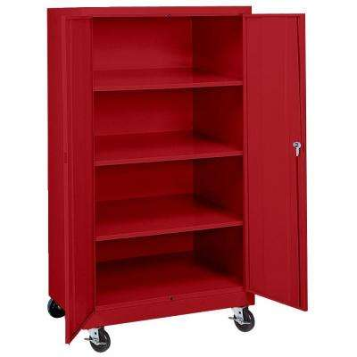 wheels free standing cabinets garage cabinets storage systems the home depot. Black Bedroom Furniture Sets. Home Design Ideas