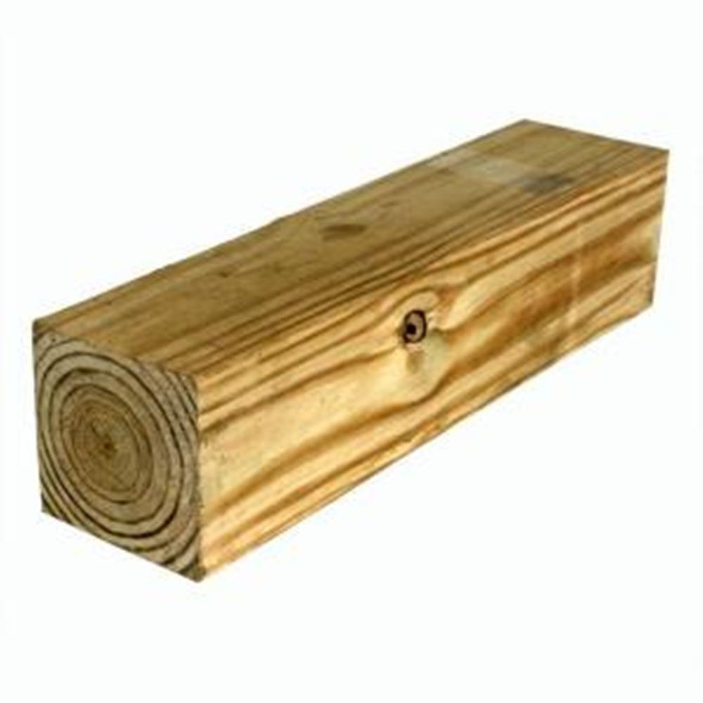 6 in. x 6 in. x 16 ft. #2 4B Pressure-Treated Timber