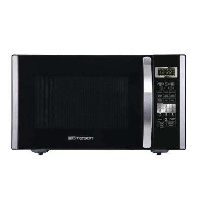 1.5 cu. ft. 1000-Watt Countertop Convection and Griller Microwave Oven, Stainless Steel and Black