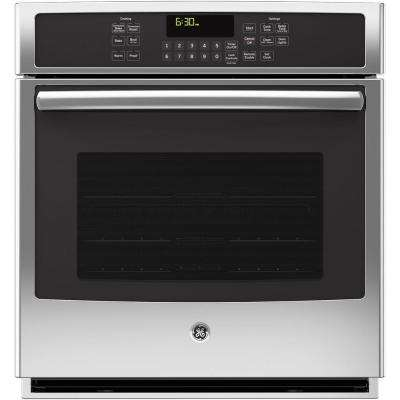 27 in. Single Electric Smart Wall Oven Self-Cleaning with Steam Plus Convection and WiFi in Stainless Steel
